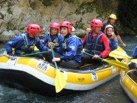 Gruppo rafting