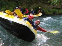 Avventura con il rafting