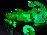 Corpetti laser verdi