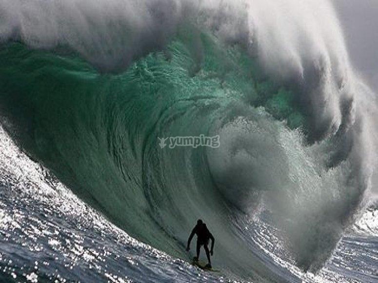 Ingoiato dall onda