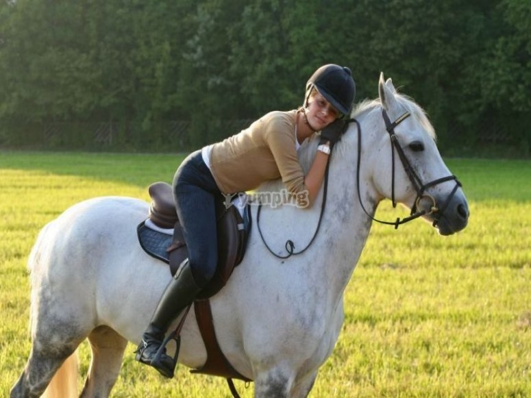 In simbiosi col cavallo