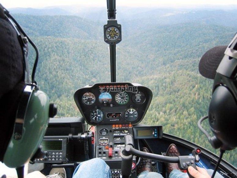 Vista dall elicottero