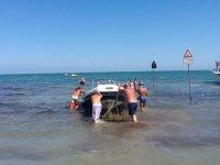 Entrando in mare