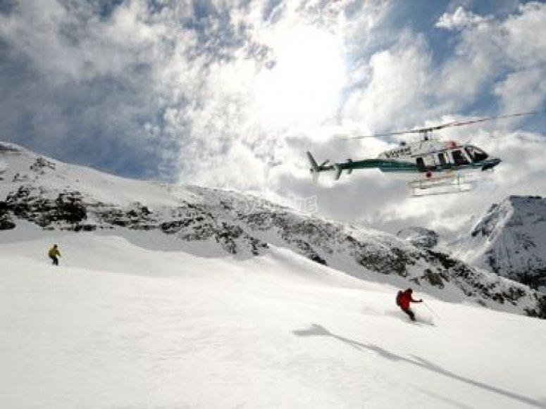 Heliski per sciatori esperti