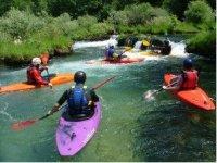 Tutti in Kayak
