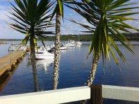 La vista dallo yacht club