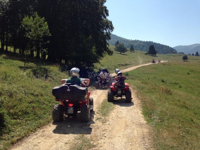 escursione quad