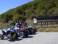Escursione Quad mezza giornata Pietranico(Abruzzo)