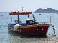 Excursions at sea in Taormina