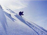 Off-piste snowboard