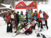 Scuola di snowboard