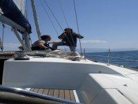 In barca a vela Puglia