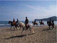 passeggiata spiaggia Argentario