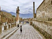 Streets of ancient Pompeii