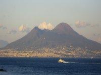 Vesuvius in the distance