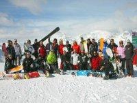 Gruppi scuola snowboard