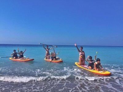 No stress team Paddle Surf