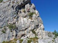 La roccia e l'uomo