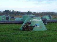 Campo con strutture gonfiabili