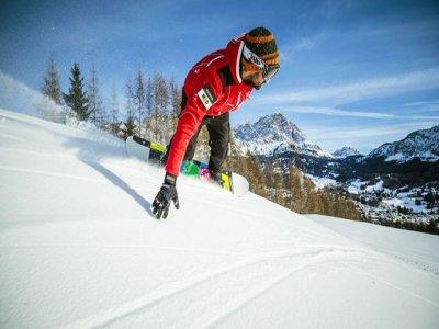 Scuola Sci Cortina Snowboard