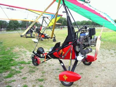 Volo in deltaplano a motore biposto Calabria