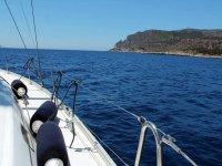 In barca a motore