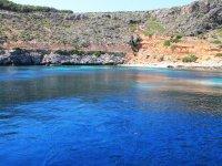 Le acque blu delle Egadi