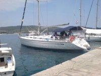 La barca a vela a noleggio