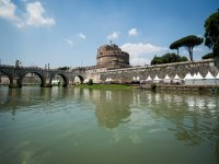 Castel Sant'Angelo da una prospettiva insolita
