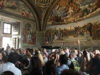 Dentro ai Musei Vaticani
