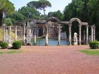 Scorcio di Villa Adriana a Tivoli