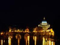 Vista di San Pietro dal ponte