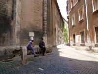Passeggiando per i vicoli di Roma