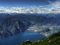 Sport with a view of Lake Garda