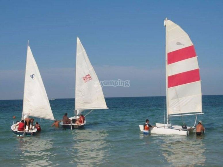Corso di vela nel Salento