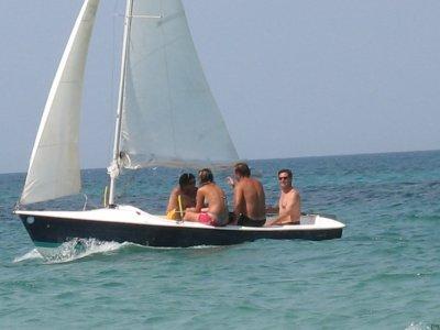6-hour sailing course Vernole Lecce