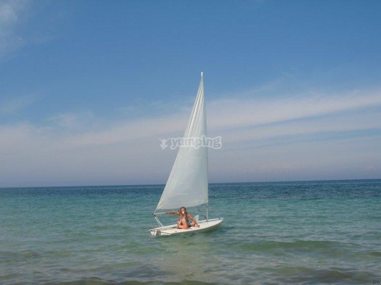 In barca in compagnia