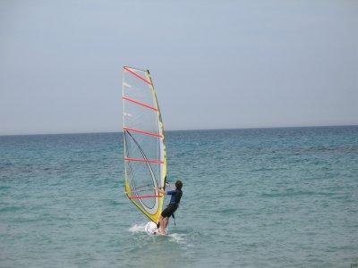 Windsurfing course for children under 16 in Vernole