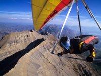 Hang-glider flight