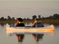 Goditi Un Tramonto Sulle Nostre Canoe