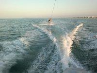 Sciando sul mare