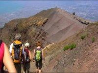 Trekking on the Vesuvius