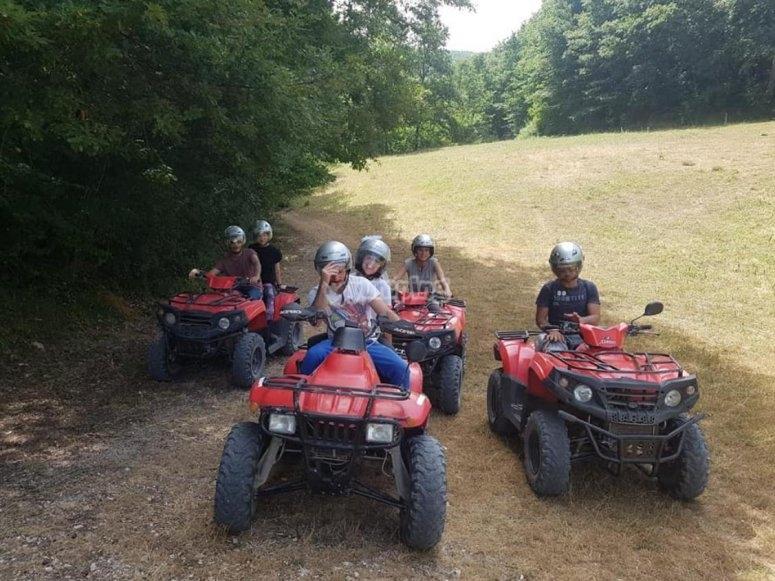 excursion in quad