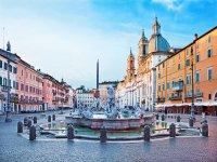 Piazza Navona e le sue fontane