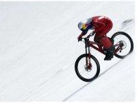 Sulla Neve In Mountain Bike!