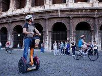 In segway al....Colosseo!