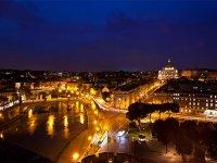 Roma di notte...cosa c'è di piú bello?