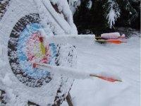 Prova Anche Tu Il Tiro Con L' Arco Sotto La Neve