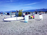 Stand in spiaggia