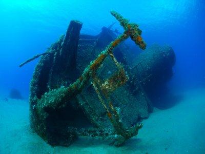 Wreck dive course in Capoliveri